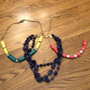 Bundle of 3 fun necklaces